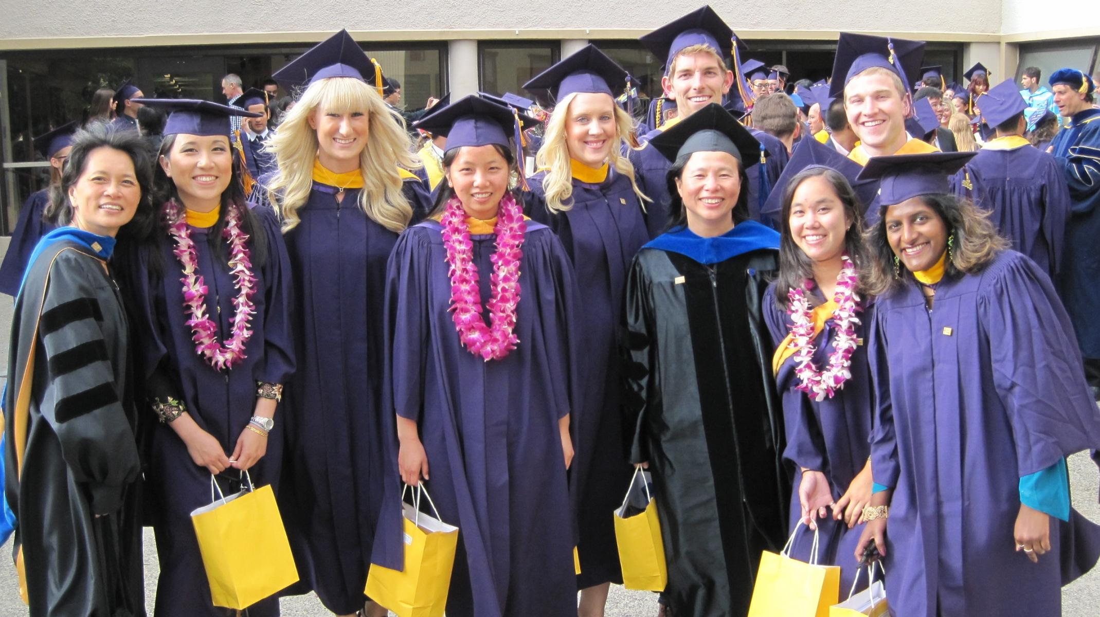 Cohort 2 Graduates at Biology graduation ceremony May 2013