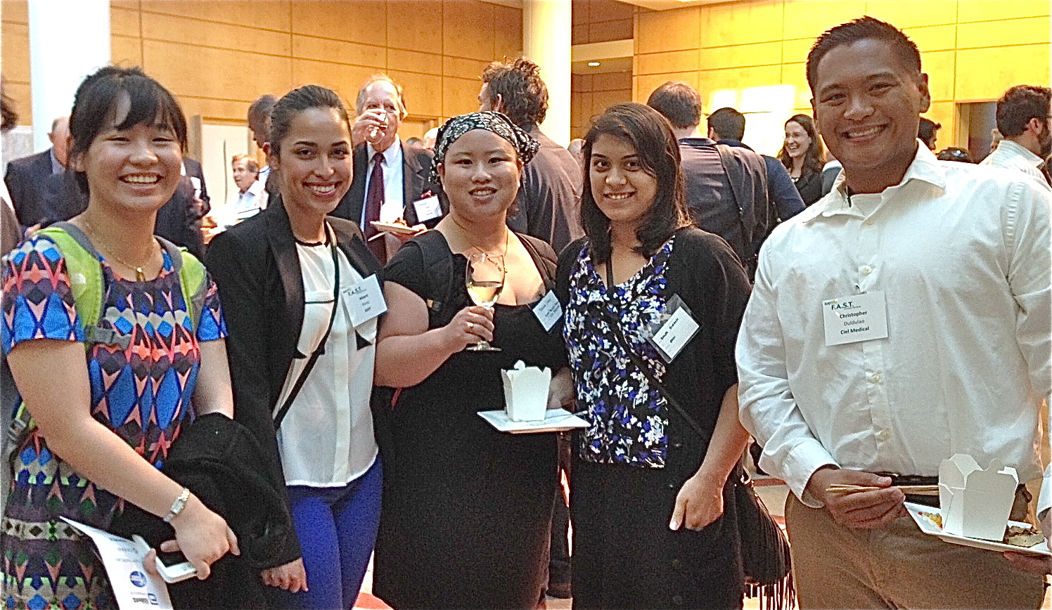 PSM students at the BaybioFAST program final showcase in spring 2014