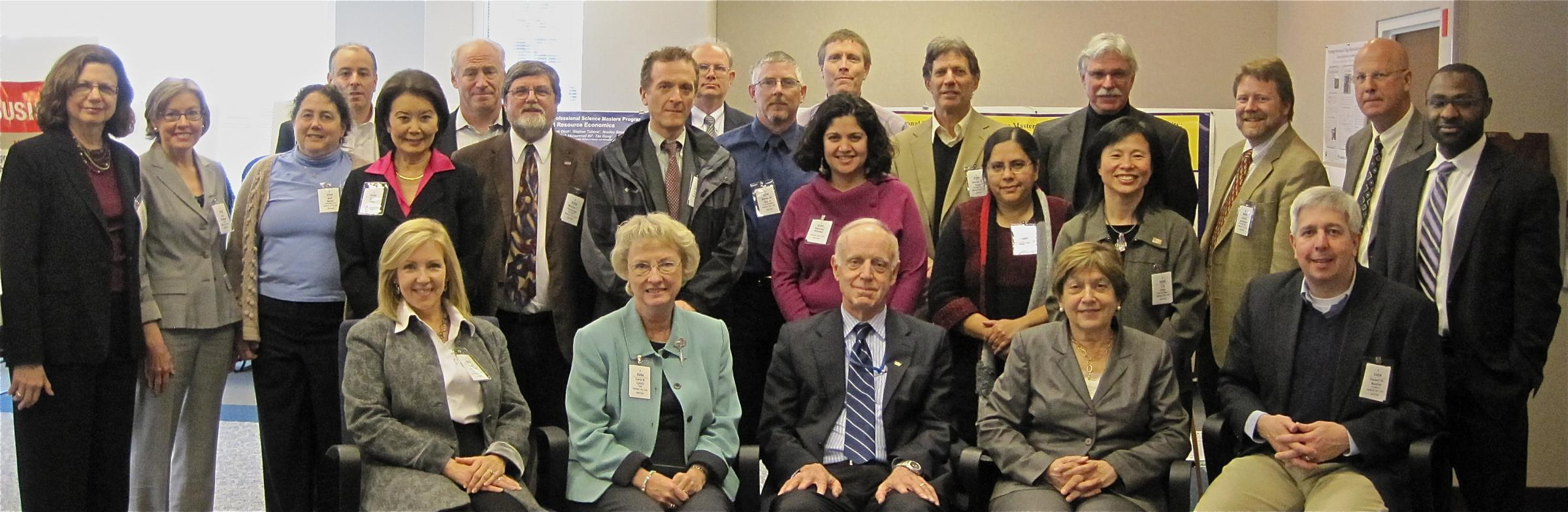 Picture of National Science Foundation SMP Directors Meeting in 2011